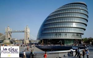 پاورپوینت تحلیل تالار شهر لندن - www.perozheha.ir