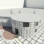 پلان درمانگاه به همراه تصاویر سه بعدی
