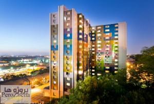 رنگ در ساختمان