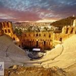 پروژه پاورپوینت معماری یونان