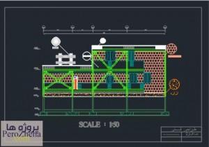 پروژه طراحی فنی مسکونی (1)