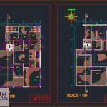 دانلود پروژه طراحی فنی مسکونی