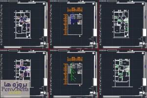 پروژه تاسیسات الکتریکی و مکانیکی (3)