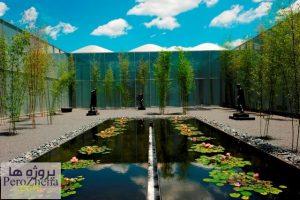 برنامه فیزیکی باغ موزه هنر