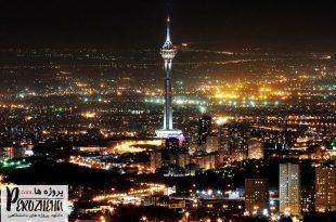 دانلود پاورپوینت اقلیم تهران